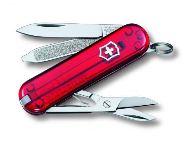 Victorinox Classic SD (rot transparent) 0.6223.T