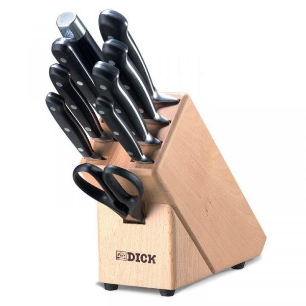 Holz-Messerblock mit Bestückung, 9-teilig, Serie Premier Plus # 8807000