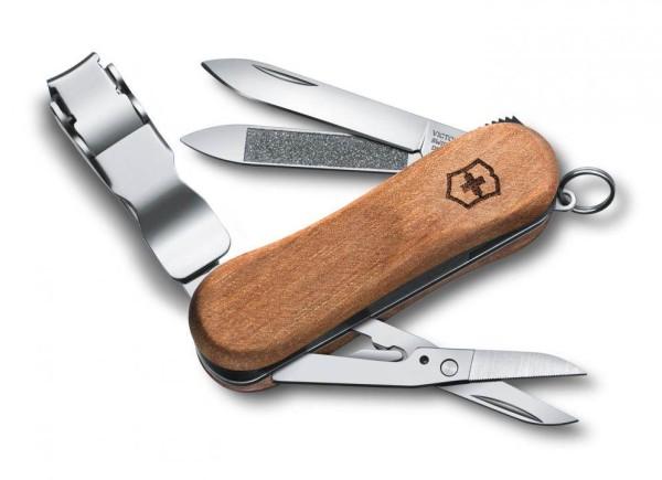 Victorinox Nail Clip Wood 580 0.6461.63