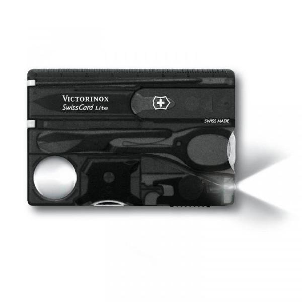 Victorinox SwissCard Lite, grau-transparent, 0.7333.T3